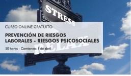 """Curso online gratuito: """"Prevención de riesgos laborales - Riesgos psicosociales"""""""