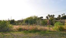 A la venta solar edificable con vistas al mar en Breña Baja
