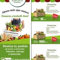 El Mercadillo de Puntallana reparte a domicilio sus productos