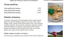 HELADOS TABURIENTE - Helados y tartas a domicilio