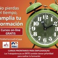 Cursos online 100% Gratuitos para residentes en La Palma