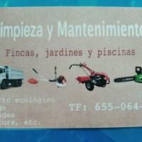 Limpieza,Mantenimiento de Fincas y Jardines