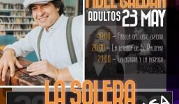 El narrador Fidel Galbán protagoniza una nueva cita del ciclo 'La Solera Cuenta en Casa'