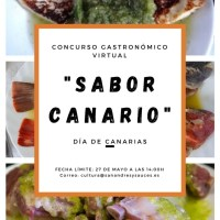 """Concurso Gastronómico Virtual """"Sabor Canario"""" con motivo del Día de Canarias"""