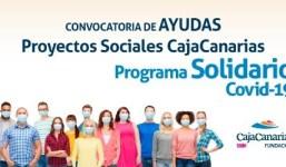 La Fundación CajaCanarias anuncia la resolución del Programa Solidario-Covid 19