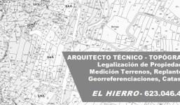 APAREJADOR LEGALIZACIÓN PROPIEDADES EL HIERRO