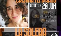 'La Solera Cuenta' cierra su cuarta edición con una sesión de cuentacuentos para el público adulto