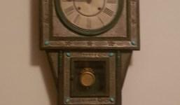 Reloj de pared siglo XVIII