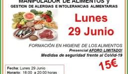 Villa de Mazo organiza un curso de manipulación de alimentos y gestión de alergias e intolerancias alimentarias