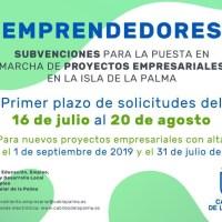 Subvenciones a emprendedores para la puesta en marcha de proyectos empresariales para el 2020