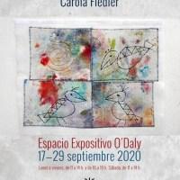 El Espacio de Arte O'Daly acoge una exposición de collages sobre papel y arte en tela de la artista Carola Fiedlar