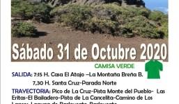 El Atajo: del Pico La Cruz a Barlovento