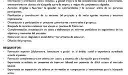 ORIENTADOR/A LABORAL. Arciprestazgo de Los LLanos de Aridane