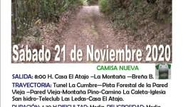 EL ATAJO: al tunel de la Cumbre (21 noviembre)