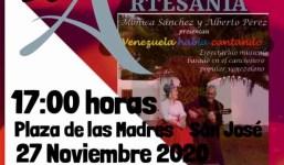 """Venezuela habla cantando"""" en la Mini Feria de Artesanía"""