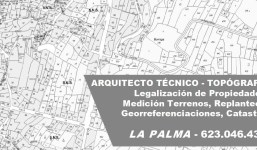 Medición de Terrenos y Parcelas Técnico La Palma