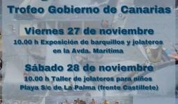 """Regata de Barquillos de Vela Latina """"Trofeo Gobierno de Canarias"""""""