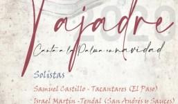 "Tajadre presenta ""Canta a La Palma en Navidad"""