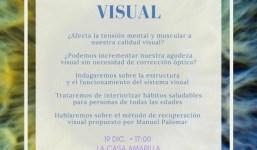 "Charla ""Recuperacion Visual"""
