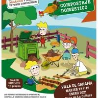 ¡ÚLTIMAS PLAZAS! Talleres prácticos para elaborar compost en el hogar