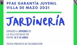 """15 Jóvenes de Villa de Mazo se podrán beneficiar el PFAE GJ """"De La Rosa a Flores"""""""