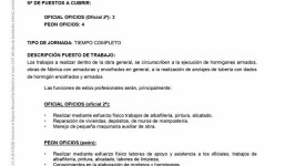 Oferta de Empleo- Gurpo Tragsa