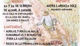 El Cabildo y la Fundación CIAB organizan un curso de Introducción a la Agricultura Ecológica