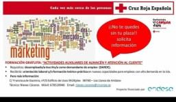 Formación gratuita desempleados/as y ERTE: Actividades de Almacén y Atención al Cliente