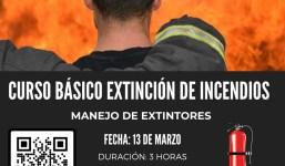 Curso Básico Extinción de Incendios