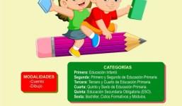 Concurso de Cuento y Dibujo Infantil y Juvenil para Conmemorar el Día del Libro