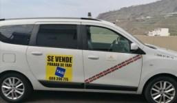 Se vende parada taxi