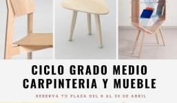 Ciclo Grado Medio Carpintería y Mueble
