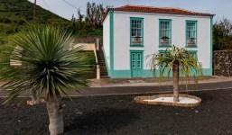Casa tradicional de dos pisos en La Palma