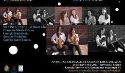 Violines entre la Maresía