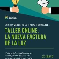 Taller online: La nueva factura de la luz