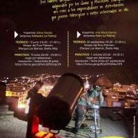 El Cabildo organiza dos talleres de montaje y manejo de telescopios dirigido a los guías starlight