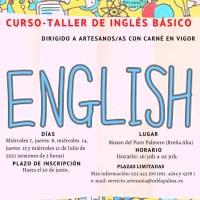 El Cabildo mantiene activa la formación continua del sector artesanal impartiendo cursos de inglés básicos