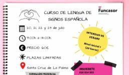 Curso de Lengua de Signos Española (LSE) INTENSIVO