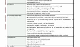 TÉCNICO/A EMERGENCIAS SANITARIAS