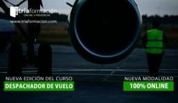 CURSO DESPACHADOR DE VUELO (FLIGHT DISPATCHER) 100% ONLINE.