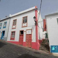Tradicional casa canaria de estilo colonial en Santa Cruz de La Palma