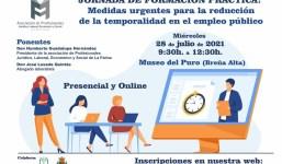 Formación sobre las medidas urgentes para  la reducción de la temporalidad en el empleo público