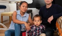Pequeña familia busca alojamiento en La Palma