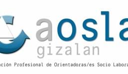 Fórmate para trabajar en orientación laboral. Curso 2021/2022 de AOSLA-Gizalan.