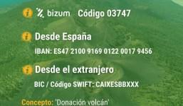 Donaciones Erupción La Palma