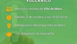 Encuentro Informativo sobre el fenómeno volcánico