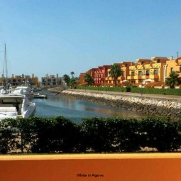 T1  apartment in Marina Portimao, Beach front