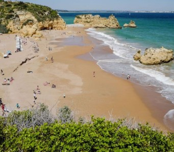 T2 in Lagos, just 300 meters from Dona Ana beach, considered one of the most beautiful beaches in the world