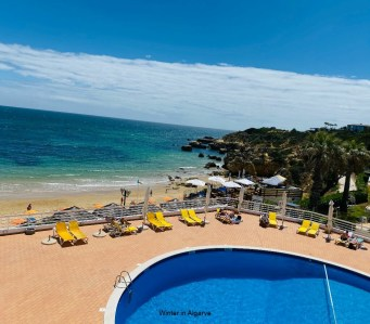 One bedroom apartment in front of Oura Beach (Albufeira)