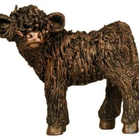 Highland cattle sculptures for sale
